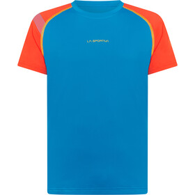 La Sportiva Motion t-shirt Heren, blauw/rood